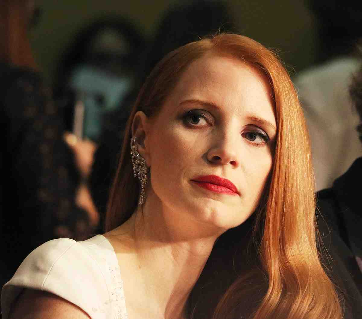 chastain, cannes